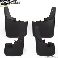 For 11- 16 Ford F250 F350 Super Duty Front & Rear Splash Guard Mud Flaps NEW