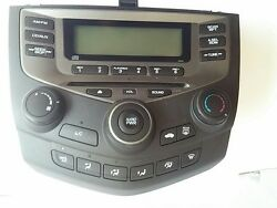 6cd chgCHANGE 2003- 2007 Honda Accord Radio AM FM CD Player Climate Control 2AC2