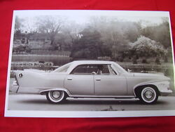 1960 Plymouth Fury 4dr Hardtop 11 X 17 Photo / Picture