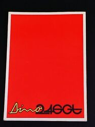 Ferrari Dino 246 Owners Manual Use Maintenance Book_246_gt_1972_red Cover_oem