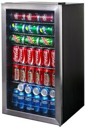126 Can Beverage Cooler 19 In. Beer Soda Canned Drinks Boat Rv College Dorm New