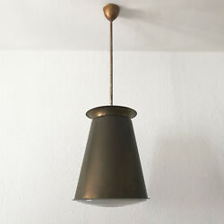 Extremely Rare Modernist Bauhaus Pendant Lamp By Adolf Meyer Zeiss Ikon 1930s