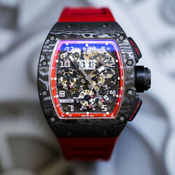 Richard Mille  Felipe Massa Black Night NTPT Carbon RM 011 Mint Complete