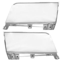 19671968 Mustang Coupe Door Window Assembly Right+left W/frame/glass Run/glass
