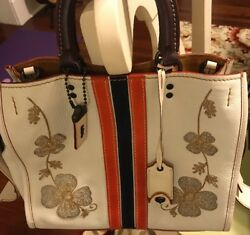 No Longer Available in Stores: Coach 1941 WESTERN Embroidery Rogue Bag