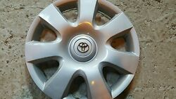 61115 Toyota Camry 7 Spoke 1 Hubcap Wheel Cover 15 New 2002 2003 2004