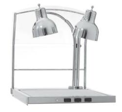Alto-shaam Cs-200/s Carving Station W/ 2 Heat Lamps Sneeze Guard And Heated Base