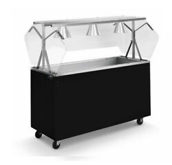 Vollrath 39774 Affordable Portable 46 3 Well Cold Cafeteria Station
