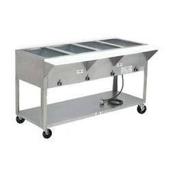 Advance Tabco Hf-5e-240 77.75 Electric 5 Well Hot Food Table W/ Ss Top 240v