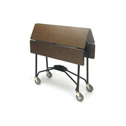Lakeside 74416 36wx36dx30h Space-saver Series Room Service Table