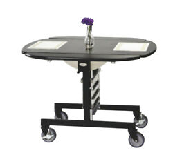 Lakeside 74405s 43wx36dx31h Tri-fold Simplicity Series Room Service Table