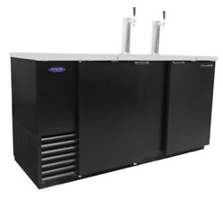Nor-lake Nldd69 28cuft Three Keg Refrigerated Direct Draw Beer Cooler