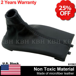Manual Shifter Shift Boot Leather For Porsche Boxster 911 986 996 97 04 Black $21.70