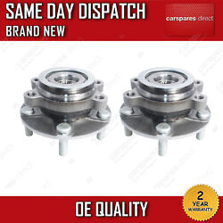 X2 FRONT WHEEL BEARING FIT FOR A NISSAN QASHQAI 1.5, 1.6, 2.0 inc DCi 2WD