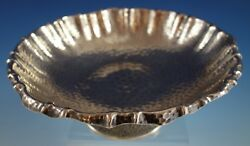 Antique Hammered By Gorham Sterling Silver Bowl Raised 8 5/8 X 3 1/4 2540