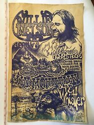 Willie Nelson Armadillo World Headquarters Hdqrs By Micael Priest Poster 17x11