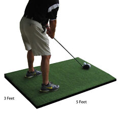 3and039 X 5and039 Commercial Nylon Pro Golf Turf Mat Chipping Driving Range Practice Mats