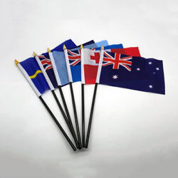 Australia Oceania Hand Table Flags All Countries Without Base Country Display Uk