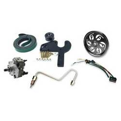 Fleece Dual Pump Kit wCP3K Pump & Blue Pulley for Dodge Cummins 6.7L '07.5-'09