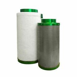 8 Inch Filtaroo Carbon Filter - Hydroponic Activated Carbon Filter Vent Duct Fan