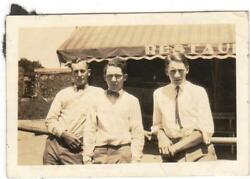 Vtg Photos Men Buddies Beer Wisconsin 1910s 20s Fashion Lot Of 8