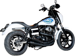 Sands Grand National 2-into-2 Exhaust System In Black Fits2006-2017 Dyna Glide