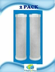 2 Hydronix Cb-45-2005 Compatible Nsf Carbon Block Filter 4.5 X 20 2 Pack