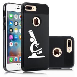 For Apple Iphone X Se 6 6s 7 8 Plus Shockproof Hard Case Cover Microscope