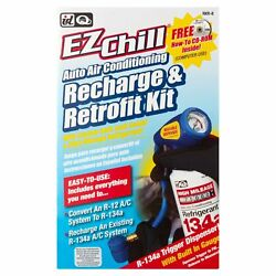 ID Quest EZChill Auto Air Conditioning Recharge Retrofit Kit High Milea