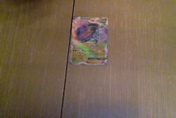Pokemon Card Team Plasma Genesect-ex Type Grass, Color Purple, Green, And Red
