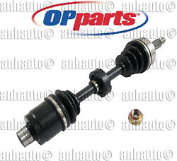 New Front Right Cv Axle Assembly For Honda Accord 2.4 Manual Transmission 03-07