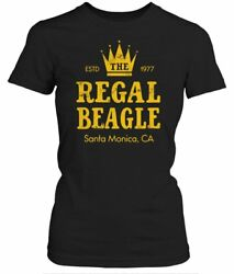 Three's Company Black REGAL BEAGLE T-Shirt Women SZ 4XL NEW TV Comedy Show PLUS