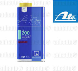 ATE DOT 4 TYP 200 – Brake Fluid Amber Color High Boiling Point
