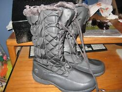 WOMENS BOOTS SIZE 10 WIDE TOTES INSULATED WATERPROOF RETAIL$90.00NEW
