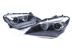 Bi-xenon Headlight Front Lamp Led Drl Pair Fits Bmw F06 F12 F13 Cabrio Coupe