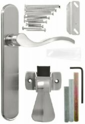Hampton Products-wright Satin Nickel, Lever Style Mounted Storm Door Latch