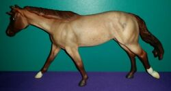 "USED Breyer Traditional Model #715 ""Bet Yer Blue Boons"" Roxy Mold (2009-2011)"