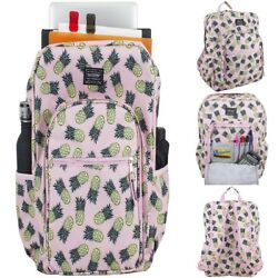 CUTE Middle School Pineapple Women Backpack with Side Pocket for Teen Girl CHEAP