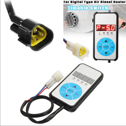 12V Air Diesel Heater Controller Digital Switch Manual Fuel Filling Time Setting