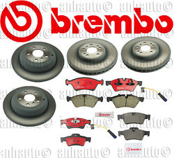 Brembo Friction Brake Kit for Mercedes ML :Rotors,Pads,Sensors