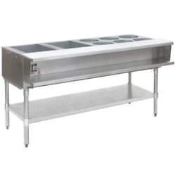 Eagle Group 63.5 Open Base Stainless Steel Water Bath Steam Table - Nat