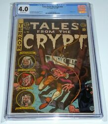 Tales From The Crypt 44 Universal Grade Comic 4.0 Guillotine Cover Headless 💎