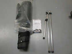 G3 Angler V-164 C 2012 Boat Cover / Anp Snap Cover / 3 Poles / Black Canvas Yam