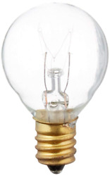 Replacement Globe Light Bulb G30 5w/130v E12 Base Clear 25 Pack New Free