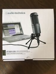 ** NEW ** Audio Technica AT2020 USB Cardioid Condenser USB Microphone