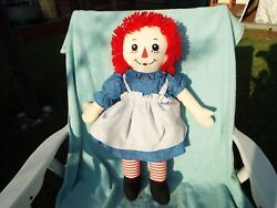 Raggedy Anne Doll Collectable