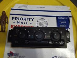 OLDSMOBILE  BRAVADA  AC HEATER CLIMATE  CONTROL TEMPERTURE SWITCH