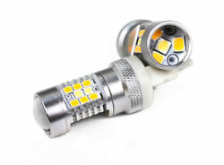 High-Powered 3157 White  Yellow Led Dual-Color Switchback Auto Bulbs (Pair)
