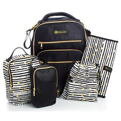 Diaper Bag Travel Backpack for Women Large Water Repellent Bags Mom and Baby