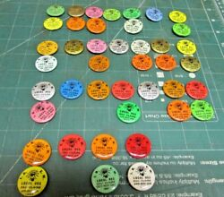 Lot Of 42 Ibew Button Electrical Workers Local 953 Eau Claire Wis Wisconsin